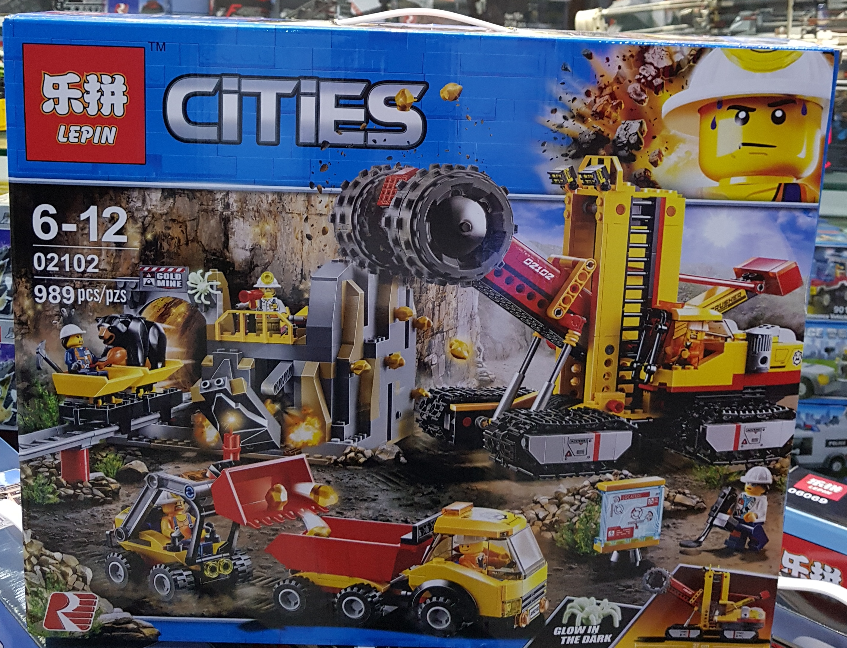 LEPIN Cities The Mining Experts 02102 (989ชิ้น)