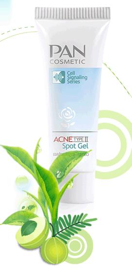 Acne Type II Spot Gel ผสานประสิทธิภาพในการดูแลปัญหาสิว Type II**ขนาด 10 กรัม