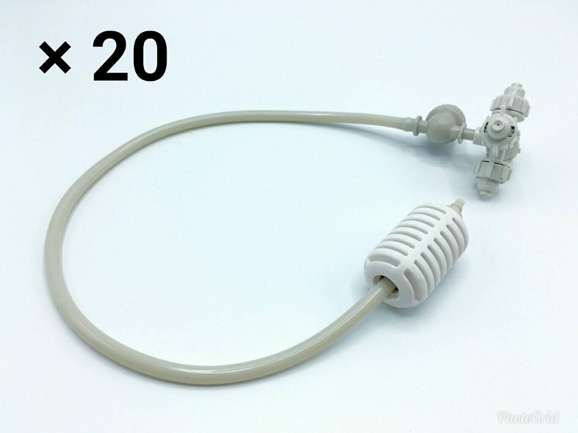 หัวพ่นหมอก 4 ทางเนต้าฟิล์ม 0.6 mm. 20 ชุด ( ชุดละ 100 บาท )