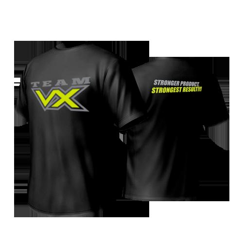 VITAXTRONG TEAM VX SHIRT BLACK