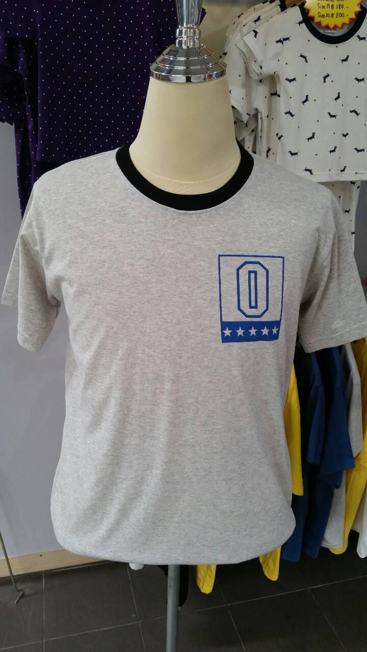 เสื้อยืด พิมพ์ลาย NO.0