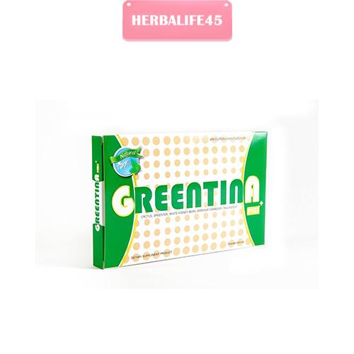 Greentina Plus กรีนติน่าพลัส, Greentina Lime Shake กรีนติน่า ไลม์ เชค