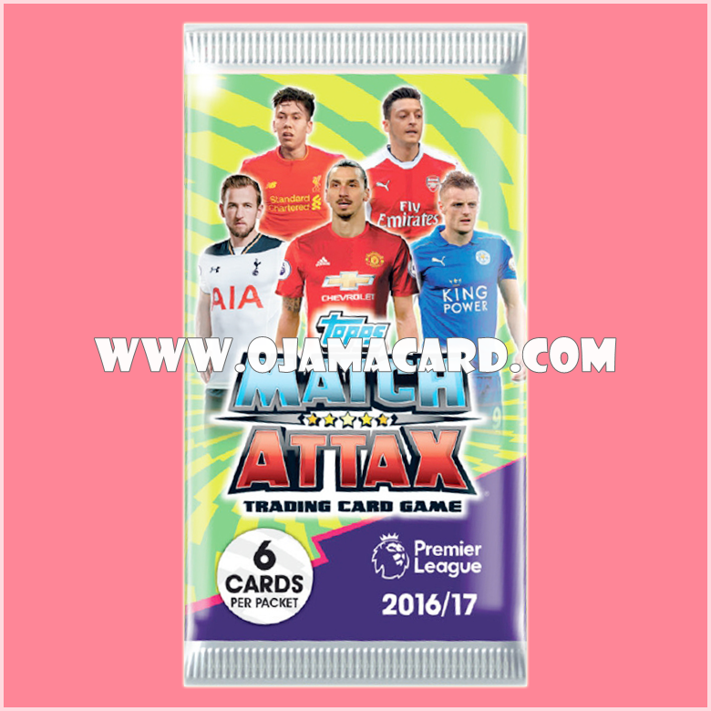 Match Attax Trading Card Game Booster Pack 2016/17 (Promo Ver.) - Booster Pack