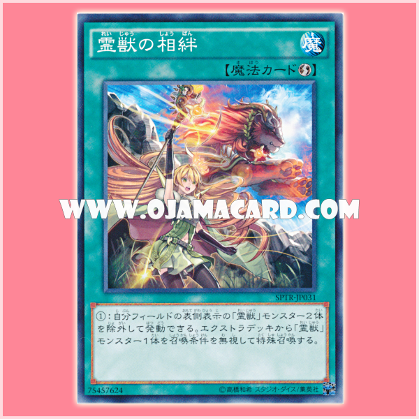 SPTR-JP031 : Bond with the Spirit Beast (Common)