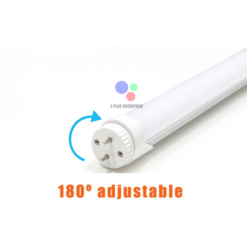 LED NEON T8 10W 60cm Rotate Adjustable