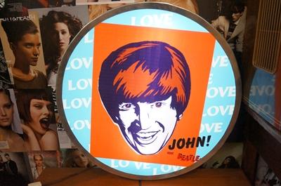 ป้ายไฟthebeatle john