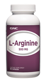 GNC L-Arginine 500 จีเอ็นซี แอล อาร์จินีน 500มก. 90 Capsules Code: 163922 เลขทะเบียน อย. 10-3-02940-1-0042