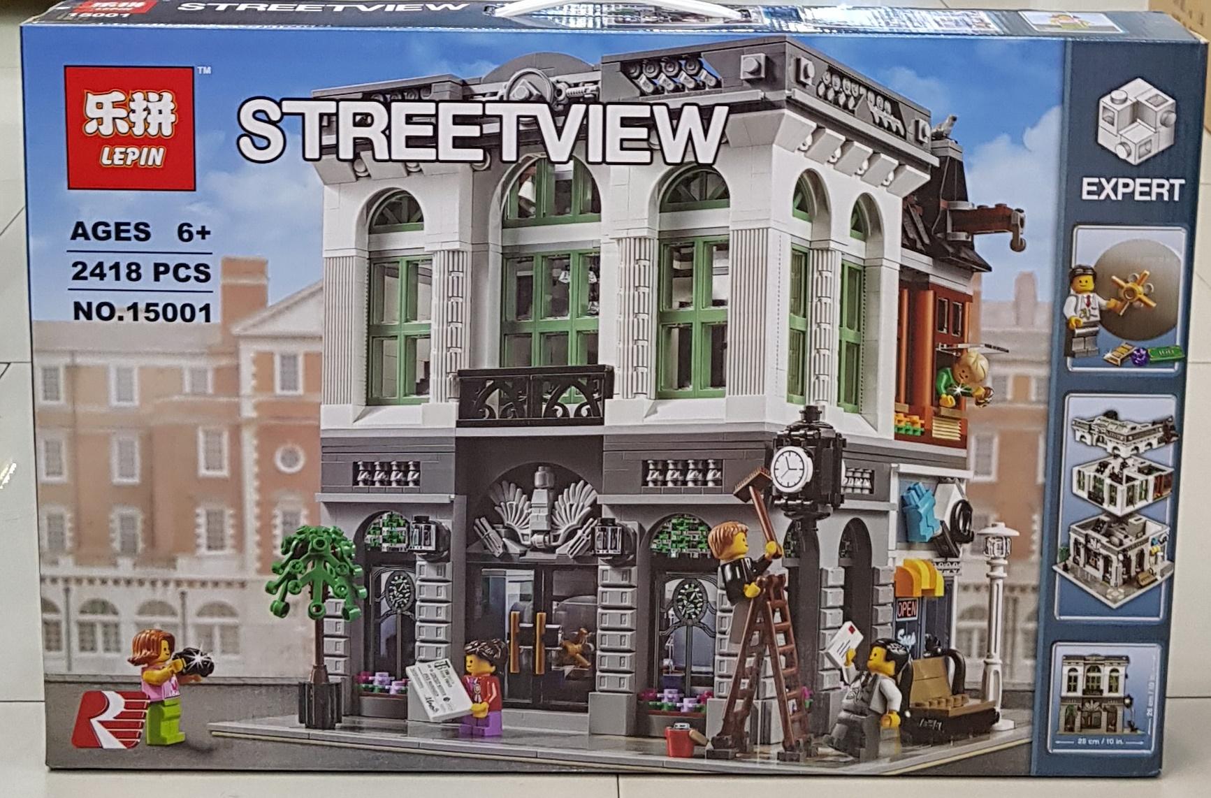 LEPIN STREETVIEW 15001 (2418ชิ้น)