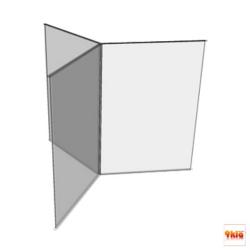 """4x8"""" ป้ายเมนูตั้งโต๊ะ 6 หน้า (สั่งผลิต 50 ชิ้น) สำเนา สำเนา"""