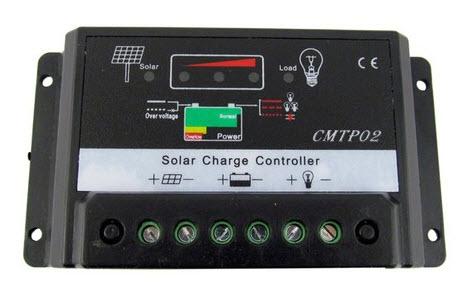 โซล่า ชาร์จเจอร์ ( Solar Charger ) 30A 12V / 24V Auto (CMTP02)