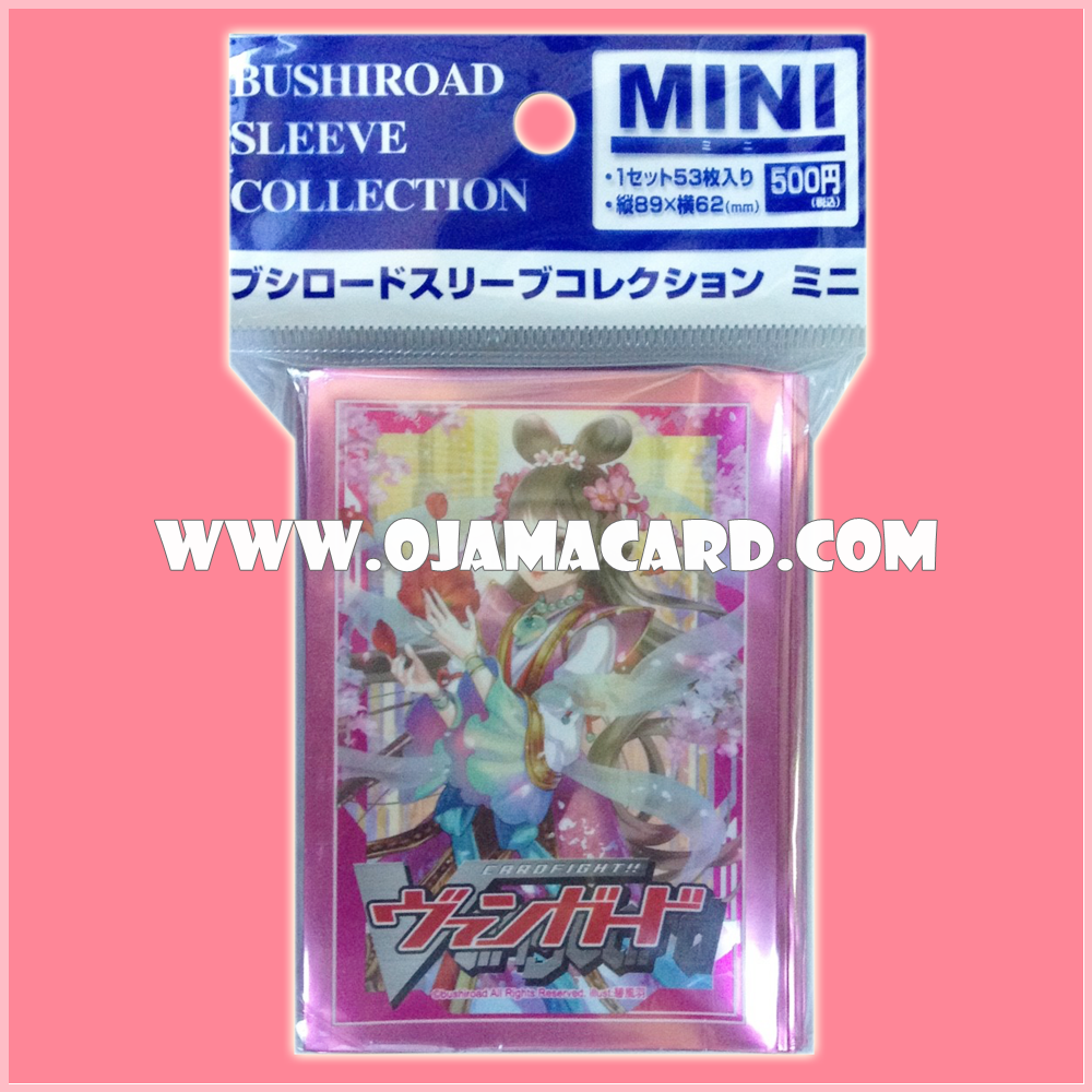 Bushiroad Sleeve Collection Mini Vol.14 : Goddess of Flower Divination, Sakuya x53