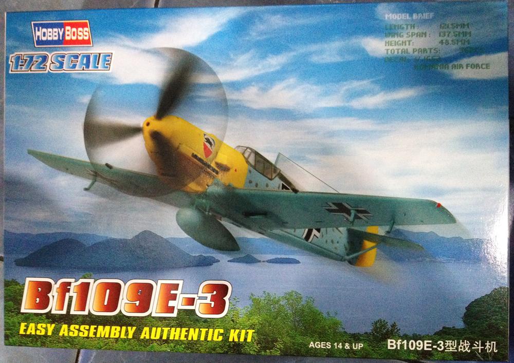 1/72 Bf109E-3