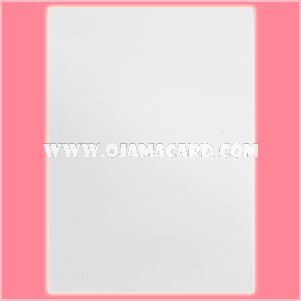 Standard Size Card Protector / Sleeve - White Matte [Used] x2