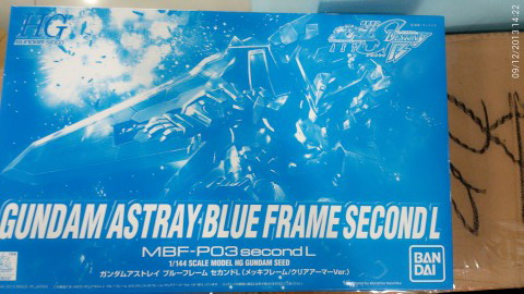 GUNDAM ASTRAY BLUE FRAME SECOND L Coating&Clear (Cx3 Chara Hobby Limited Ver)