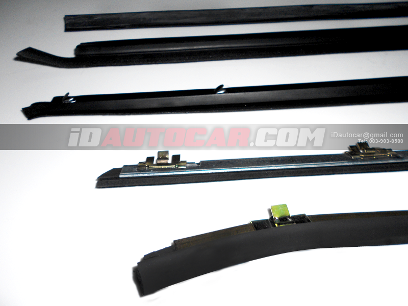 MITSUBISHI มิตซูบิชิ รถยนต์รุ่น STRADA CAB ยางรีดน้ำใน ข้างซ้าย (IN LH) Door Belt Weatherstrip ยางรีดน้ำรถยนต์ สำหรับ:: ชิ้นส่วนอะไหล่รถ อุปกรณ์แต่งรถ หาของแต่ง ของแต่งรถ แต่งรถ รถแต่ง ซ่อมรถยนต์ ซ่อมสี อู่รถยนต์ เปลี่ยนยางเสื่อมสภาพ