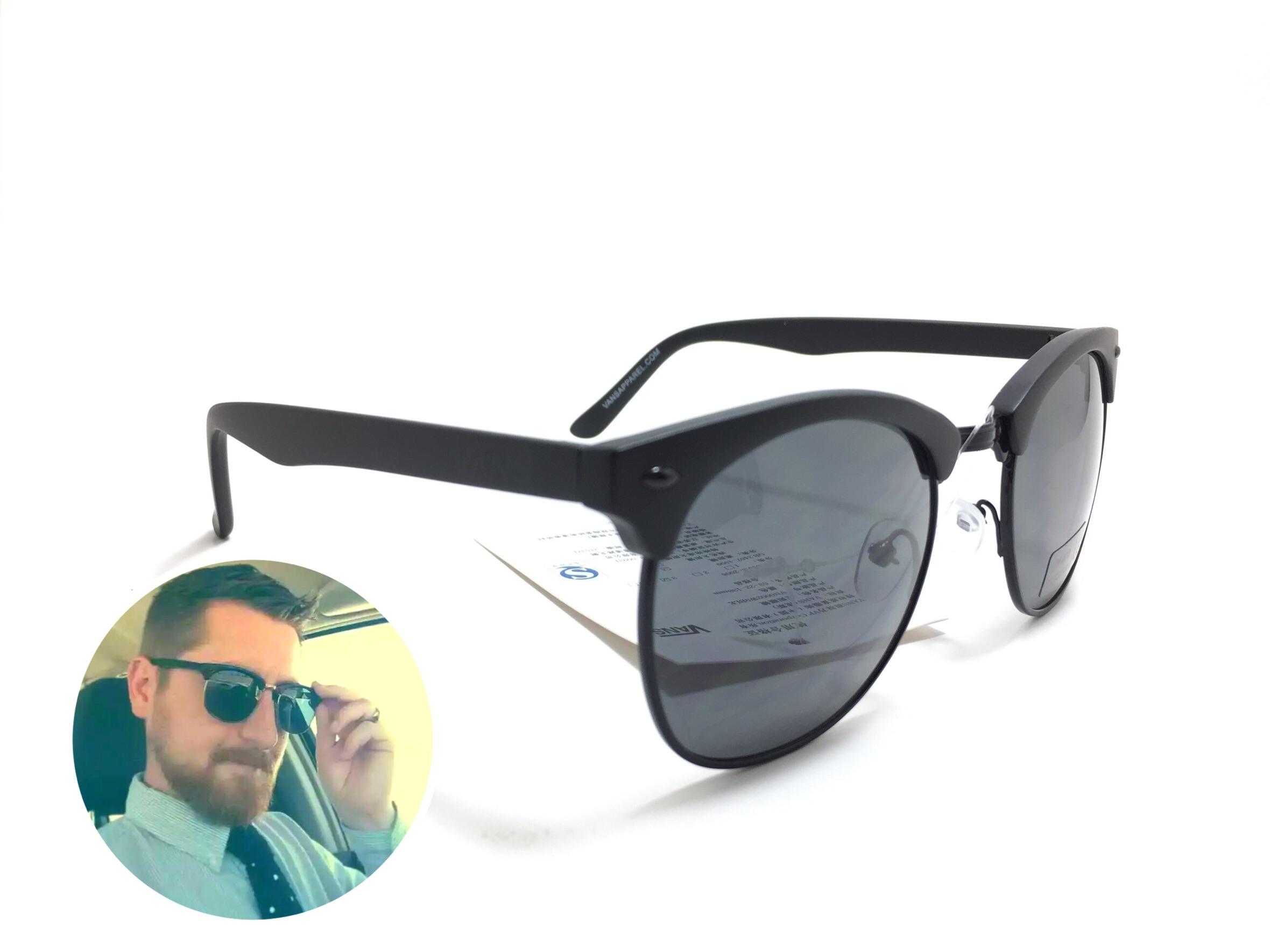 แว่นกันแดด Vans Sound Systems Black <ดำด้าน>