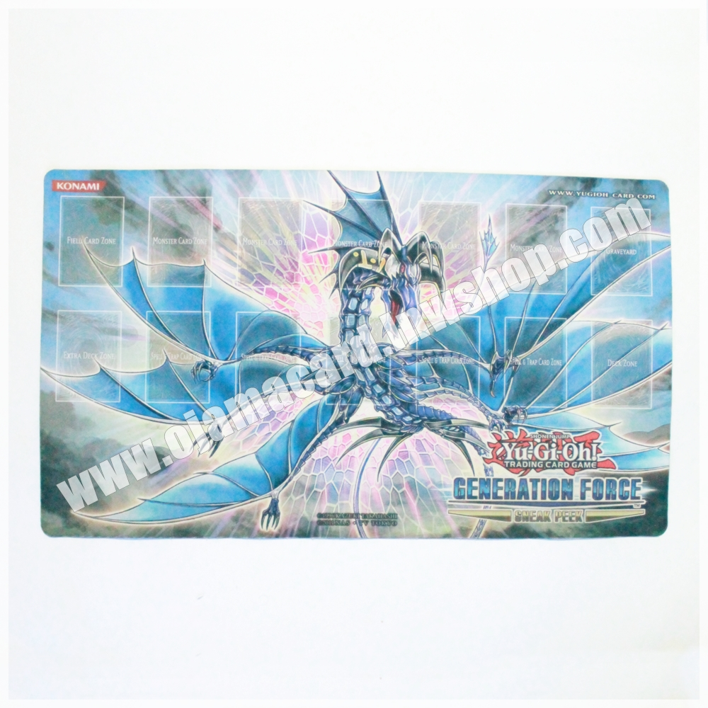 Yu-Gi-Oh TCG Number 17 : Leviathan Dragon Sneak Peek Playmat (GENF) 95%