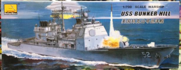 1/700 USS BUNKER HILL
