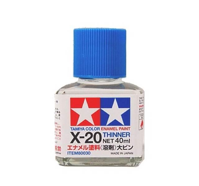 X-20 enamel thinner 40ml [Tamiya]