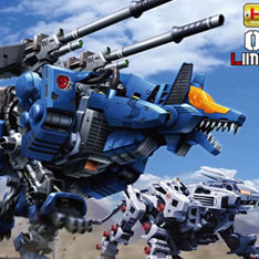 ZOIDS 1/72 Command Wolf LC & AC Barad Ver.
