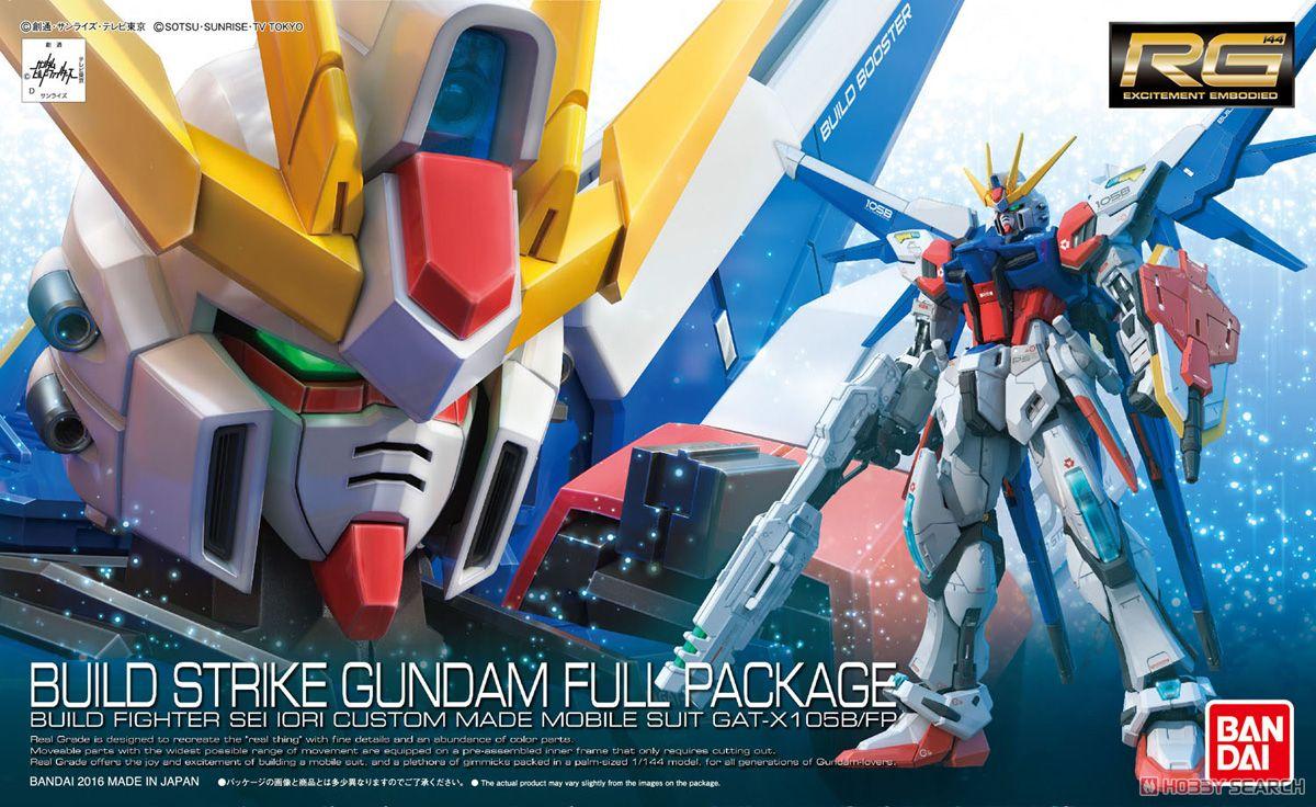GAT-X105B/FP Build Strike Gundam Full Package (RG)