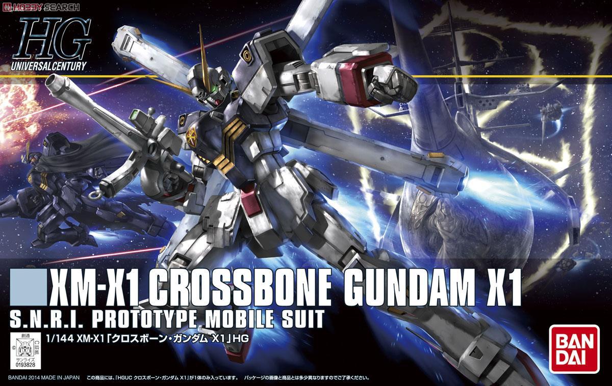 Crossbone Gundam X1 (HGUC)