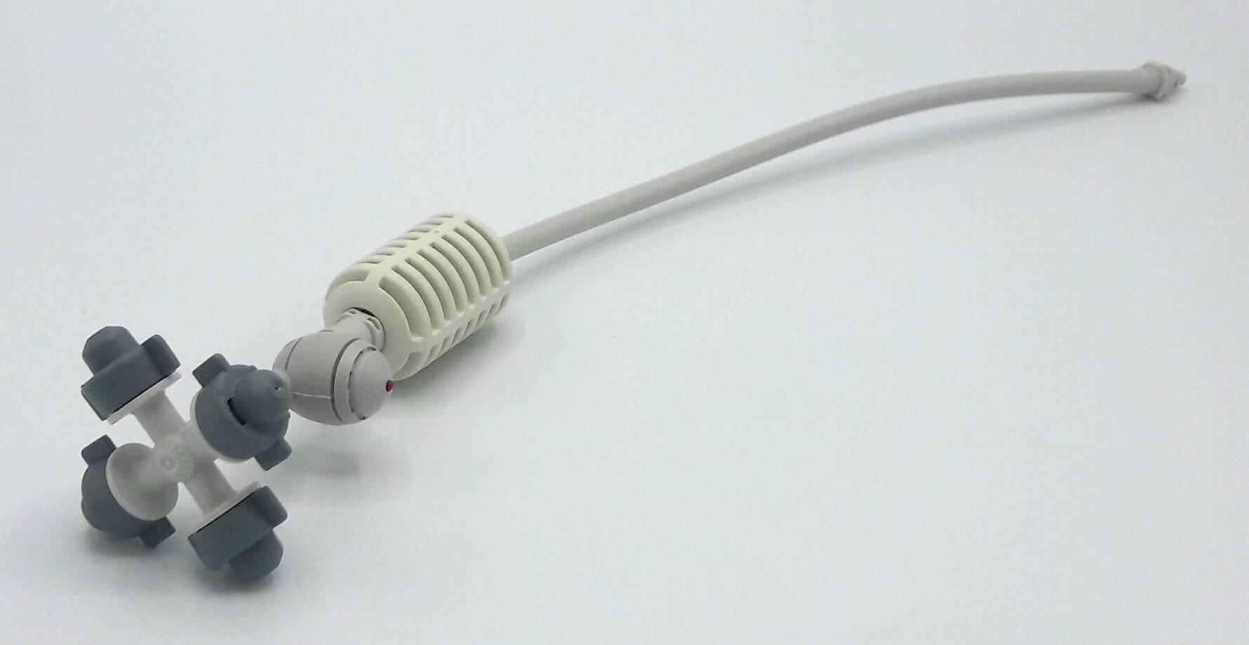 หัวพ่นหมอก 4 ทาง เนต้าฟิล์ม 0.6 มม. สายยาว 32 ซม. แบบเสียบกับท่อ PE ( NATAFIM )