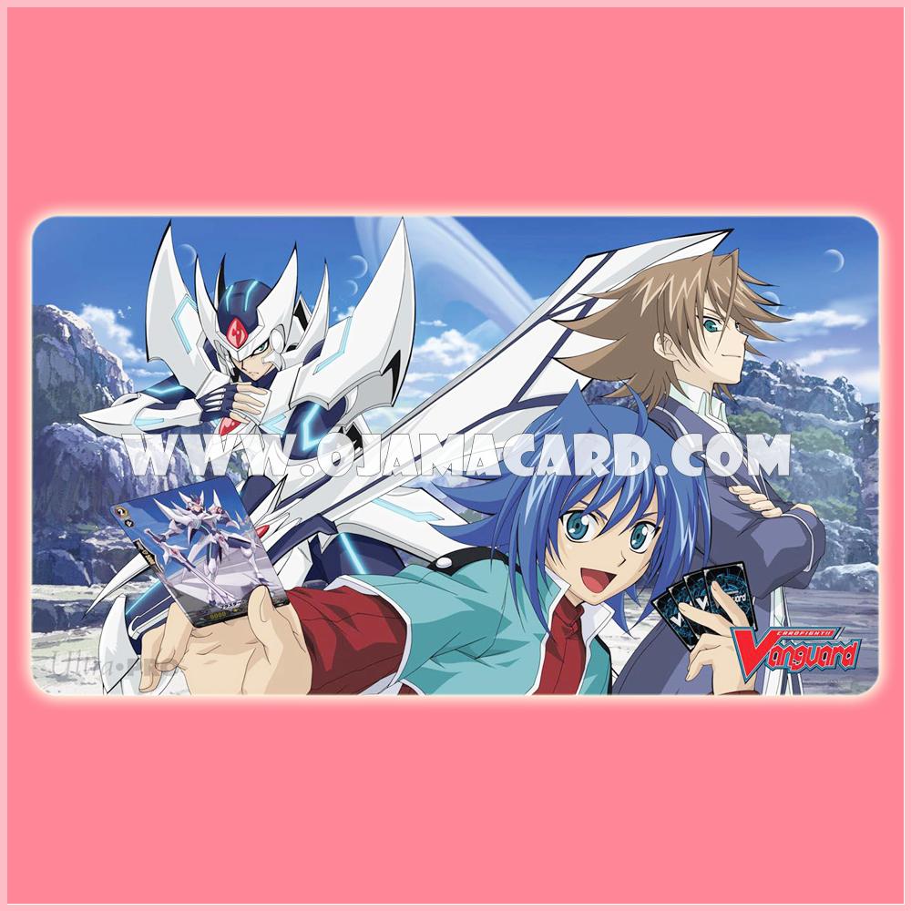 Ultra•Pro Cardfight!! Vanguard Card Game Playmat - Blaster Blade, Sendou Aichi vs Kai Toshiki