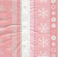 แนพกิ้น 33x33 Pink Snow L-485659
