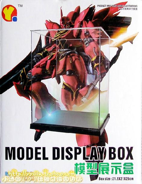 Model Display Box + LED / ตู้โชว์โมเดล 1/144 & 1/100