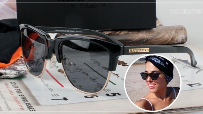 แว่นกันแดด HAWKERS DIAMOND DARK BLACK CLASSIC <ดำ>