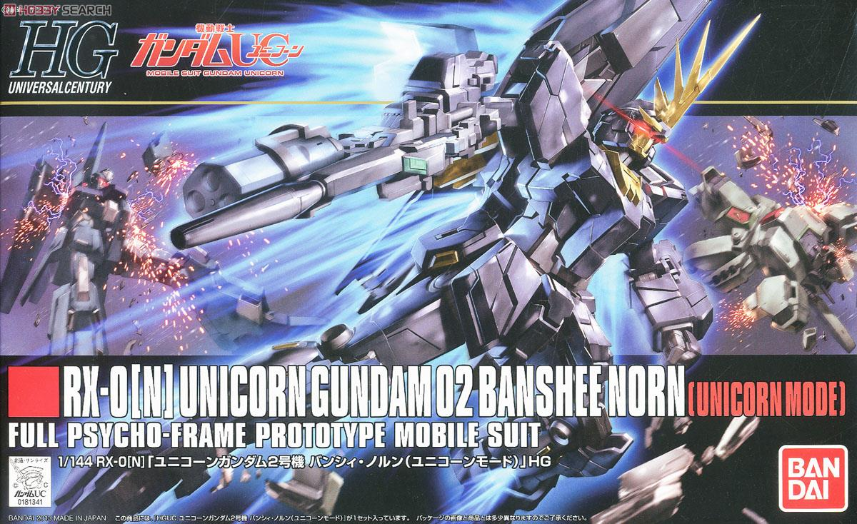 Unicorn Gundam 02 Banshee Norn (Unicorn Mode) (HGUC)