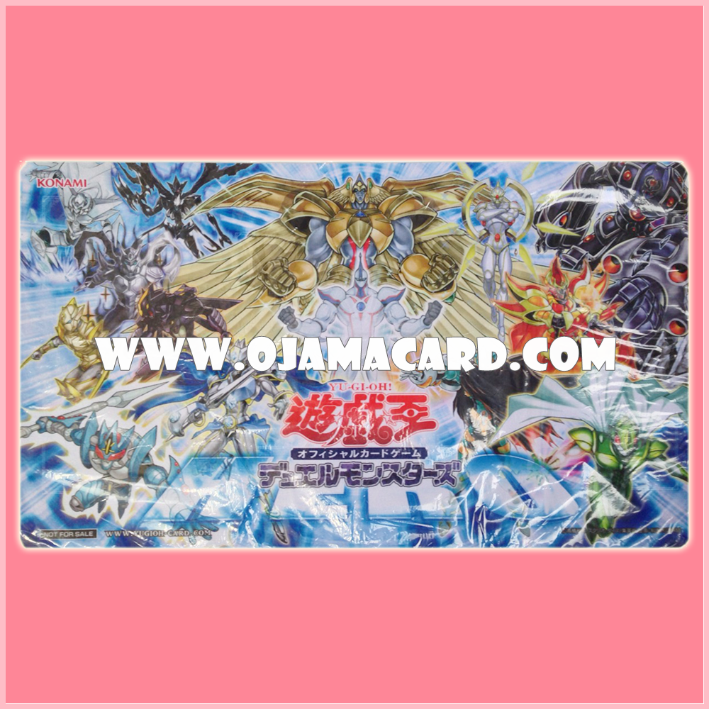 "Yu-Gi-Oh! ARC-V Playmat / Duel Field - The New Challengers: ""HERO"" monsters"