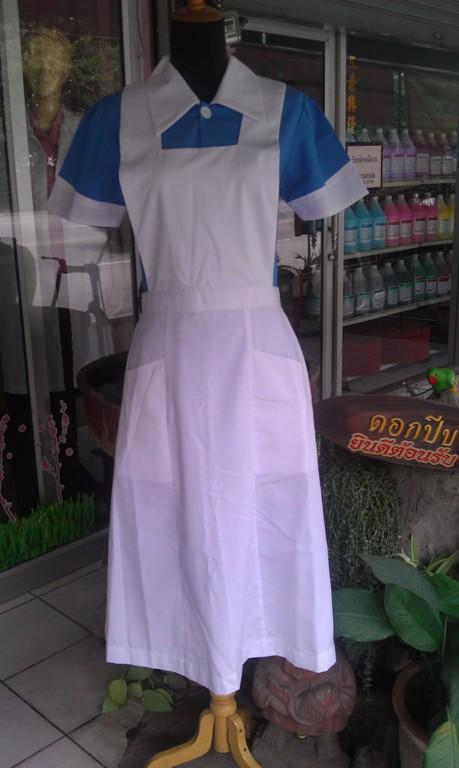 ชุดนักศึกษาพยาบาลหญิง