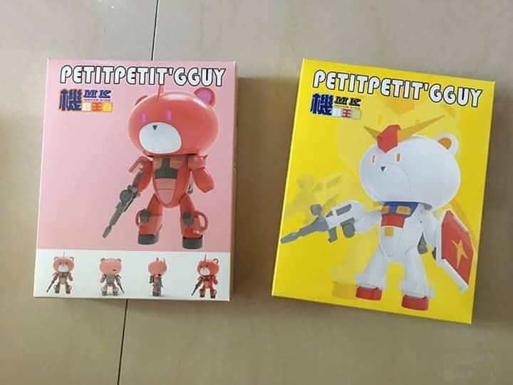 Petitpetit'gguy Ver.Zaku & RX-78 แพ็คคู่ [MK]