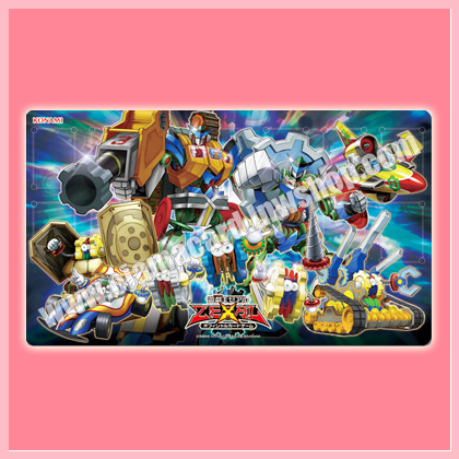 Yu-Gi-Oh! Zexal OCG Duelist Set Machine-Gear Troopers Sneak Peek Playmat (Duel Field)
