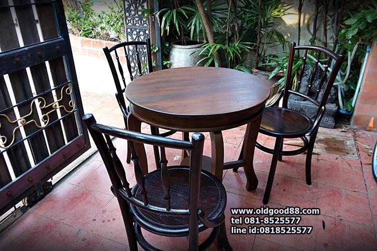 ชุดโต๊ะ+เก้าอี้เชคโก3ตัว รหัส6560ck