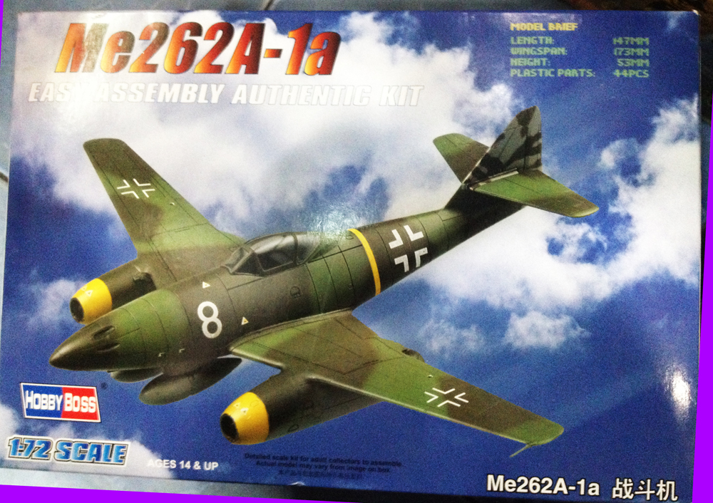 1/72 Me262A-1a