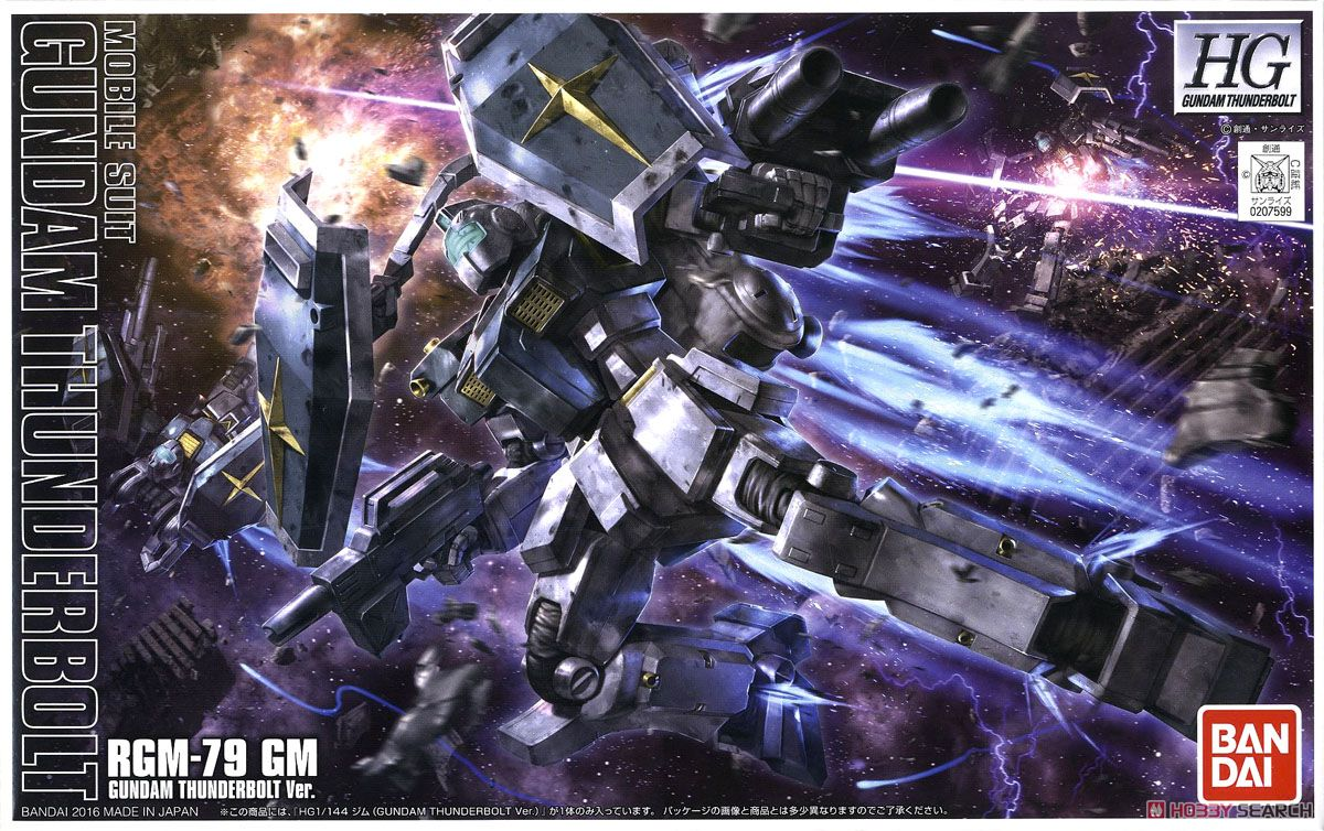 GM (Gundam Thunderbolt Ver.) (HG)