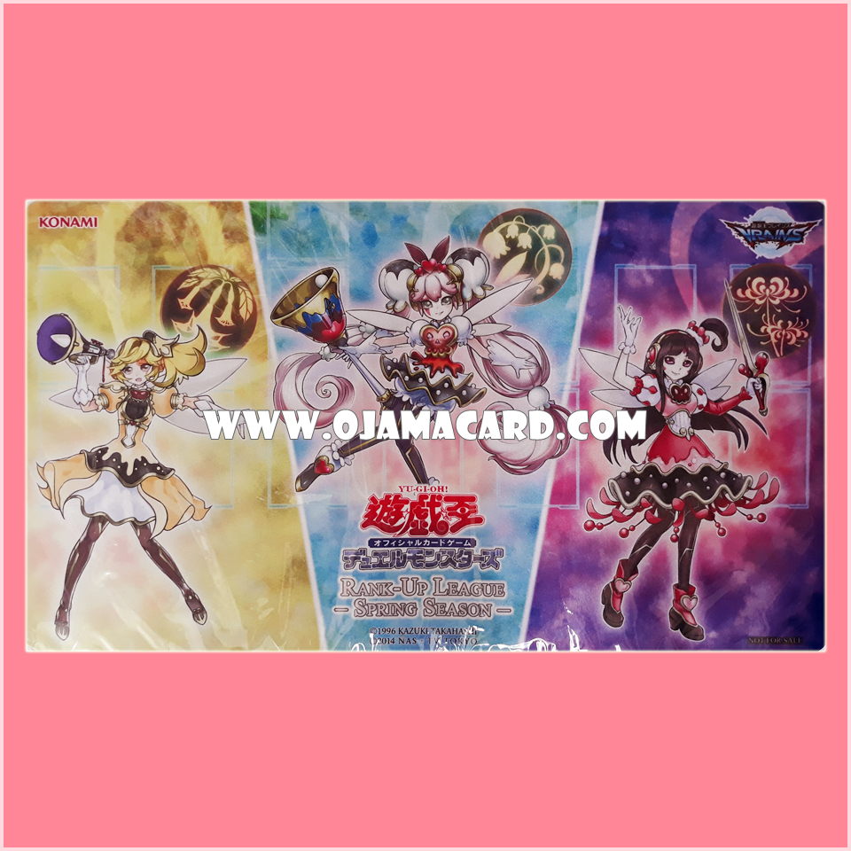 Yu-Gi-Oh! OCG Playmat / Duel Field - Rank-Up League 2017 Winter Season Tournament : Trickstar
