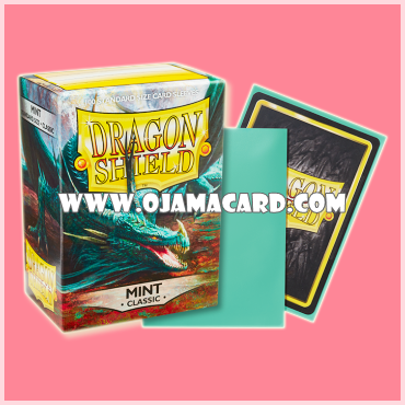 Dragon Shield Standard Size Card Sleeves - Mint • Classic 100ct.