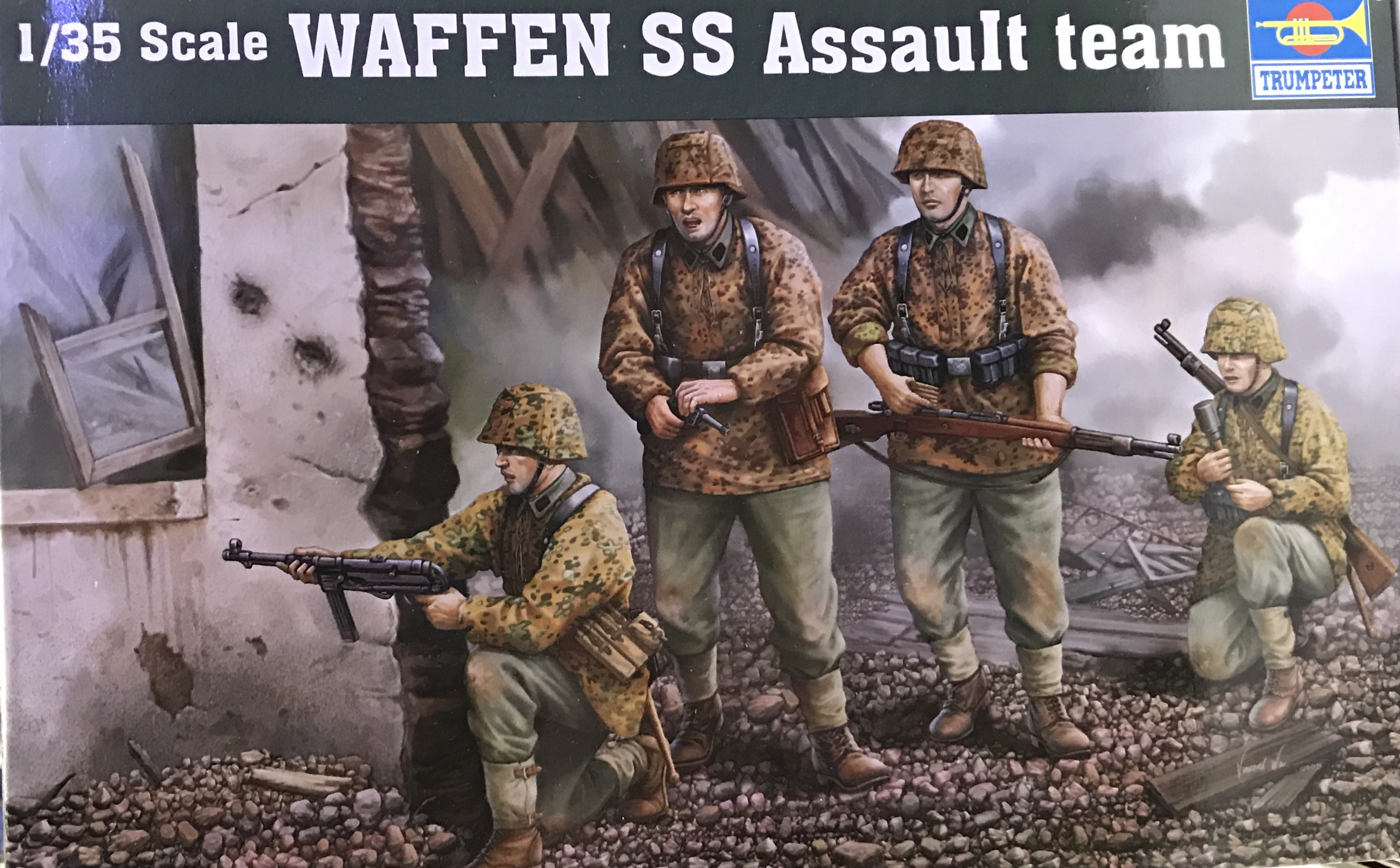 1/35 WAFFEN SS Assault team