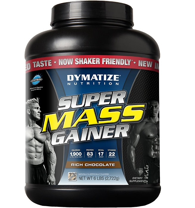 Dymatize Nutrition Super Mass Gainer 6LB, chocolate
