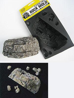 C1236 แม่พิมพ์หินเทียม สำหรับหล่อแบบภูเขา Classic Rock