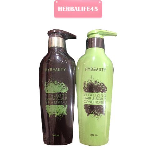 Hybeauty Vitalizing Hair & Scalp Shampoo Conditioner แชมพูและทรีทเม้น