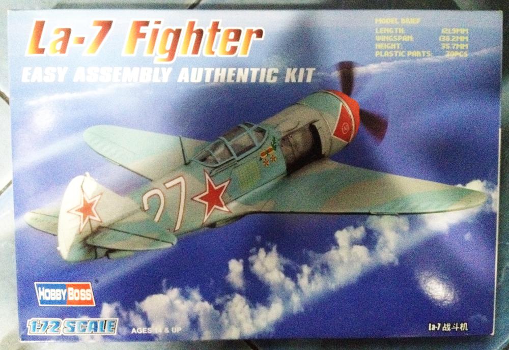 1/72 La-7 Fighter