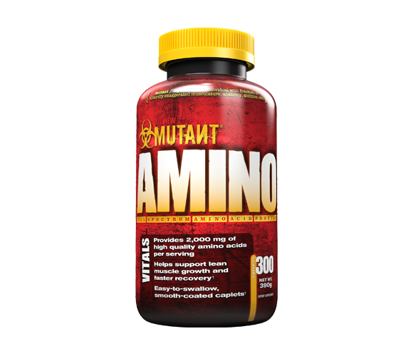 Mutant Amino 300 เม็ดเข้มข้น