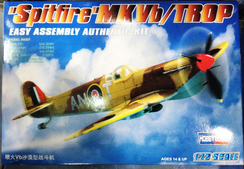 1/72 Spitfire MKVb/TROP