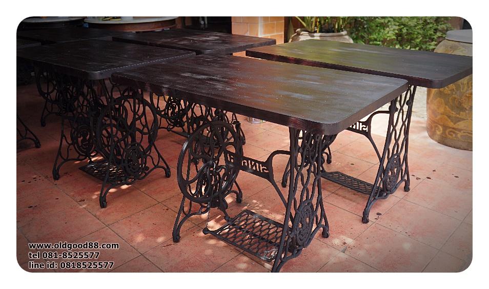 โต๊ะขาจักรเหล็กหล่อ รหัส7561ts