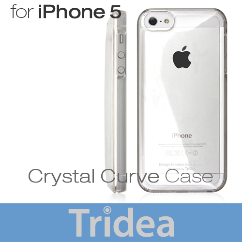 TRIDEA : Crystal Curve Transparent Case For Apple iPhone 5